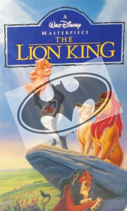 The Lion King with Batman