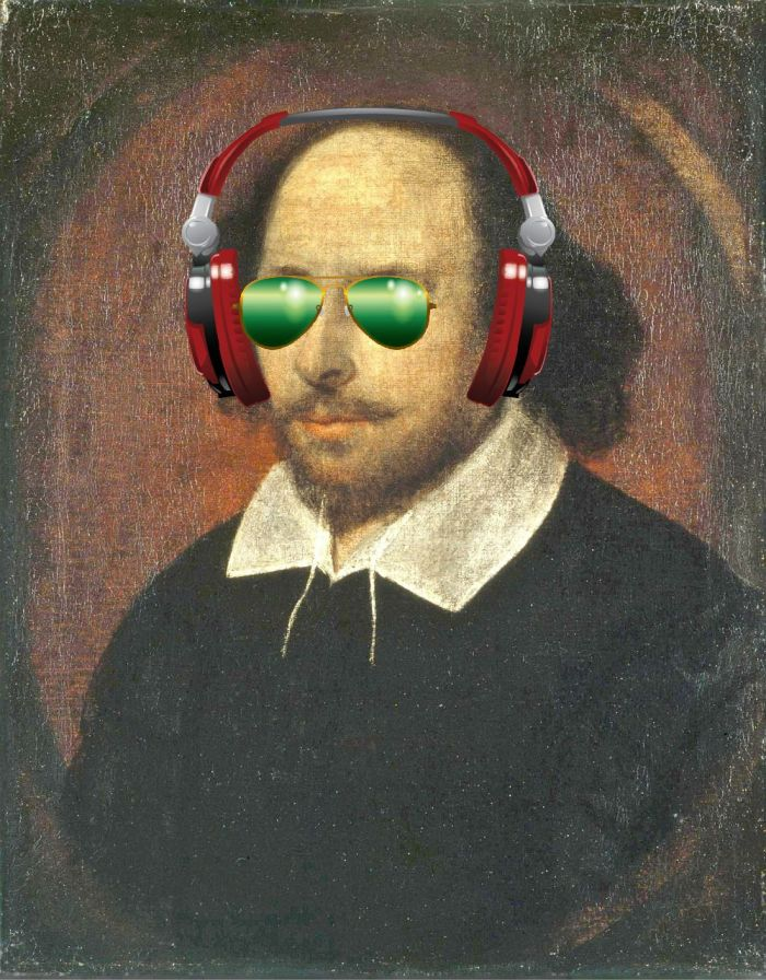 Shakespeare headphones