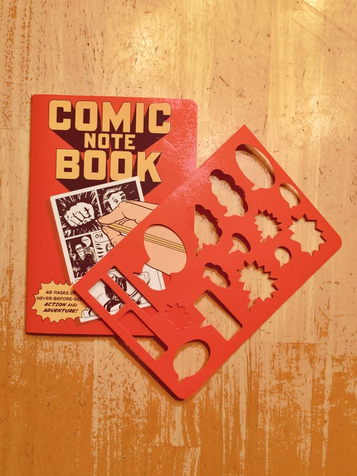 Comic Note Book