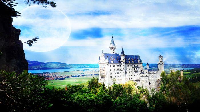 Fairy tale castle