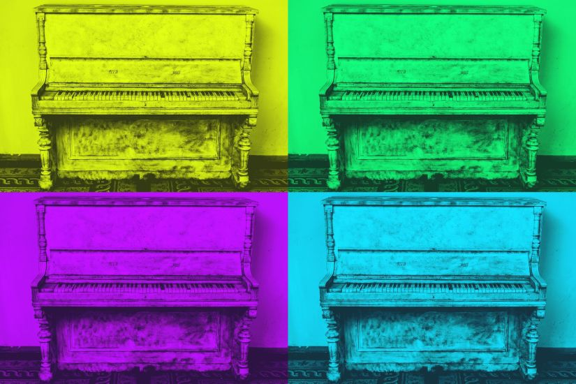 Piano colors