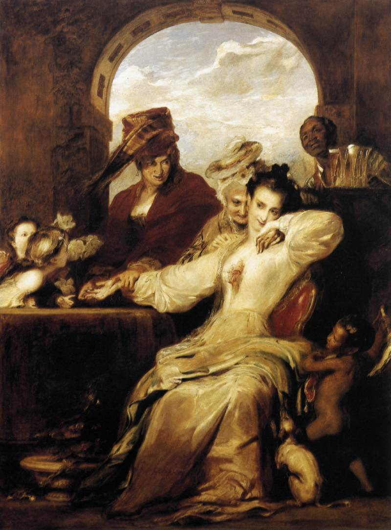 Josephine_and_the_Fortune-Teller_1837_David_Wilkie