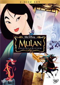 Mulan DVD books