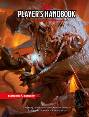 Dungeons and Dragons handbook